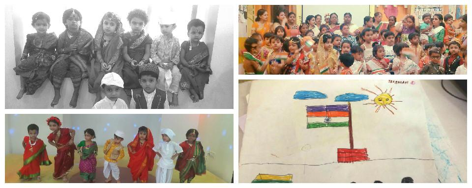 69th Independence Day Celebrations by a Modern Creche in Kolkata