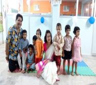 Satabdi Roy, Partner Purbalok center with Kids